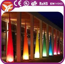 2014 inflatable lighting cones