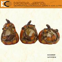 """8.5"""" Classical Thanksgiving Pumpkin Decorative Resin Pumpkin"""