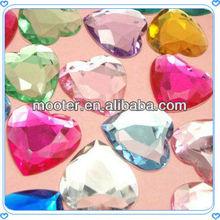 Diamond Colourful Heart Acrylic Confettis For Wedding Favor Supplies