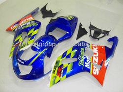 ABS Fairings Kit For SUZUKI GSXR600 GSXR750 01-03 Movistar 3 Fairing Kit