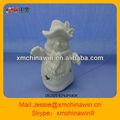 boneco de neve 2013 bisque de cerâmica enfeite de natal