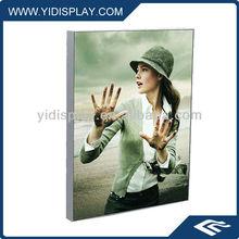 S small Aluminum fabric light box sign frame