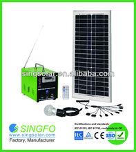 30W good performance silicon solar systems