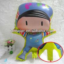 2013 New Product wholesale medium size PEPE kid's gift Cartoon Type Balloon
