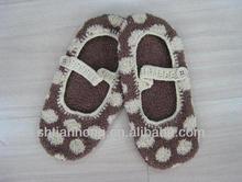 winter fashion women's knitting shoes