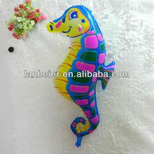 Sea horse aluminium foil balloon for decoration