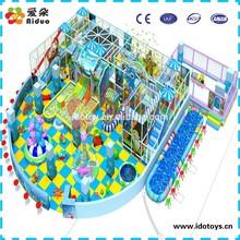 Ocean series fun park equipment, playground soft ground for children