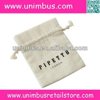 cotton mini drawstring bags