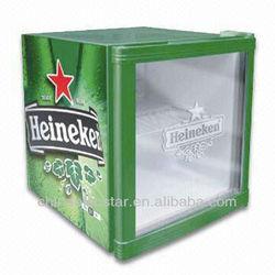 mini cooler/ display beer cooler/ mini fridge/beverage cooler