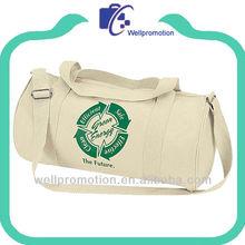 2013 Bag manufacturer canvas cotton duffel Bag