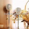 casamento candelabros bola de cristal