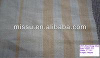 100% natural or pure stripe hemp fabric