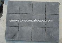 china blue limestone honed&tumble slab