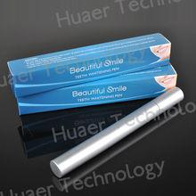2ml 4ml Aluminum silver Teeth Whitening Pen with custom box