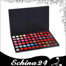 66 Colors Lip Gloss Hot 66 Ultra Shimmer Lipstick Palette Pearl Lip Gloss
