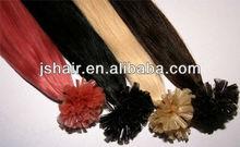 Wholesale 2013 Hot sales fashion high quality nail hair1 00% human hair