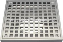 15*15 size Brass floor drain /Nickel plating floor drain