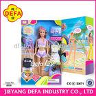 Defa Lucy doll sex dressup plastic girl doll in bikini sex doll