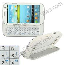 Detachable Sliding Bluetooth Keyboard for Samsung Galaxy S3 I9300