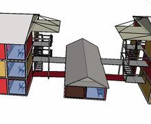 XGZ hotel modular prefabricated buildings