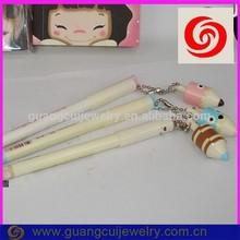 fashion plastic hang gyro toy ball pen for kids