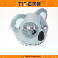 Koala bear shape Mini USB power mp3 TZ-Q10 speaker