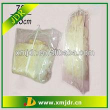 Clear PVC Plastic Wedding Gown Dress Garment Bag
