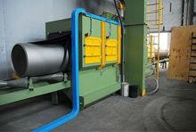 steel pipe steel tube inner and outside surface shot blasting machine
