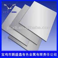 high low temperature resistance titanium sheet