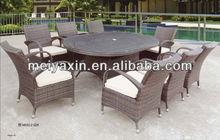 MYX12-029 PE Rattan/Wicker 10 seats luxury conference table