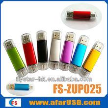 2015 new product China Shenzhen OTG usb flash drives OTG usb for smartphone&PC 32GB 64GB flash drive usb