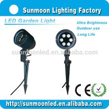 energy saving 6w 12v led solar garden lighting