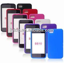 Soft for Blackberry Z10 Cover Black