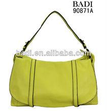 2014-2015 new design soft cow leather ladies casual hobos handbag