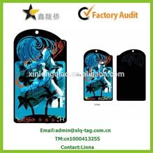 2013 Custom printing brand paper hang tag