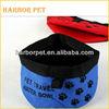 Folding Waterproof Nylon Pet Traveling Bowl