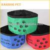 Portable Waterproof Nylon Traveling Pet Bowl