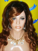 wholesale ombre color full lace wig /lace front wig, halloween women wigs costume factory price