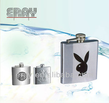 Factory direct stainless steel hip flasks