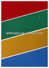 uniform used heavy peach 100% cotton /poly cotton twill fabric