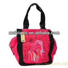 2013 new style women fashion canvas shoulder bag/tote bag B237