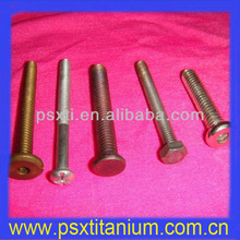 golden color metric titanium bolts