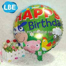 18 polegada multi impression couleur enfants fête d'anniversaire ballons