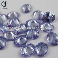 Synthetic Lavender cubic zirconia loose diamond gem