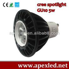 GU10 led spot lamp led chip 5w