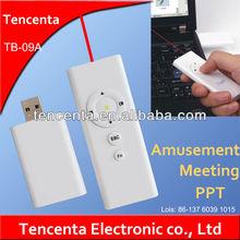 Wholesale 1-5mw RF laser x pointer Multimedia Education wireless presenter
