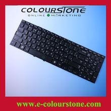 Original New For Samsung Russian Keyboard NP300E5C 300E5C Series Black Keyboard 9Z.N4NSC.10R