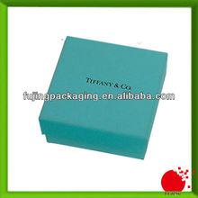 Handmade branded jewellery box with custom logo