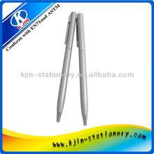 Metal fine business ballpoint pen