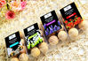 2013 hotselling items in European Market 8pcs in a pvc box with color label scented wooden balls